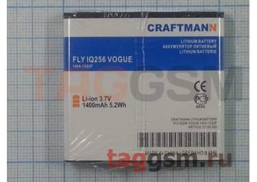 АКБ CRAFTMANN для Fly IQ256 VOGUE 1400mAh Li-ion