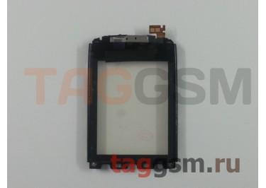 Тачскрин для Nokia 300 (Asha) (черный) + рамка, ориг