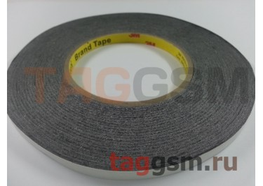 Скотч 3M двухсторонний 50м х 8мм (черный), High Copy