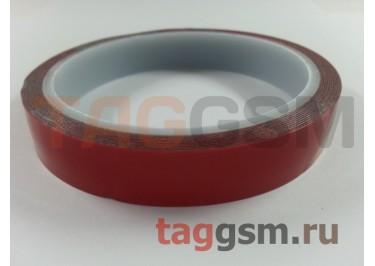 Скотч 3M Red двухсторонний 15мм