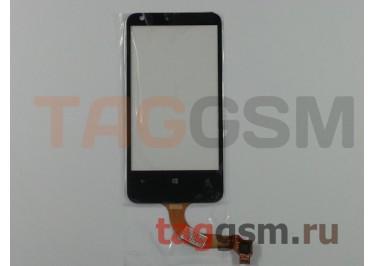 Тачскрин для Nokia 620 (черный), Rev.1