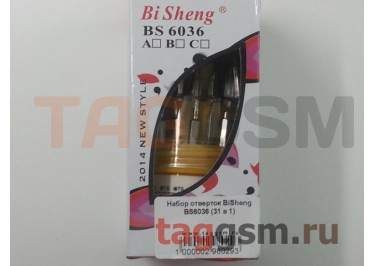 Набор отверток BiSheng BS6036 (31 в 1)