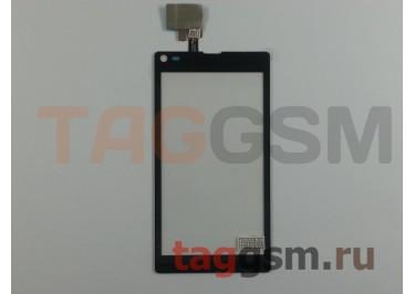 Тачскрин для Sony Xperia L (C2105) (черный), ориг
