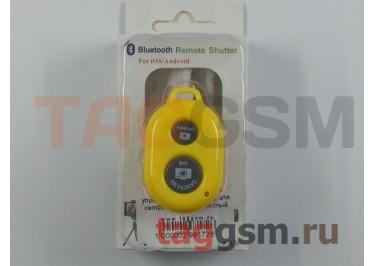 Пульт дистанционного управления (Bluetooth) для селфи (монопод), желтый