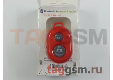 Пульт дистанционного управления (Bluetooth) для селфи (монопод), красный