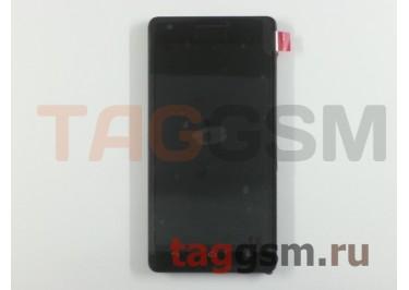 Дисплей для Huawei Honor 3 + тачскрин + рамка (черный)