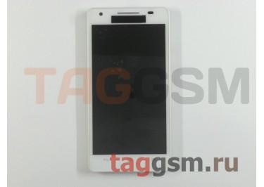 Дисплей для Huawei Honor 3 + тачскрин + рамка (белый)