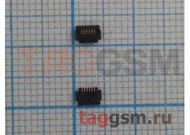 Коннектор тачскрина для Samsung S7562 Galaxy S Duos 6pin