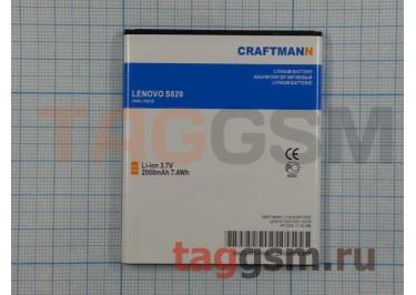 АКБ CRAFTMANN для Lenovo S820 2000mAh Li-Pon
