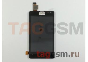 Дисплей для Microsoft 435 Lumia + тачскрин (черный)