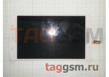 Дисплей для Samsung SM-T230 + тачскрин (белый) (без отверстия под динамик)