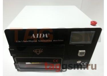 Станок для склейки дисплейного модуля AIDA A-508A (автоклав, компрессор, вакуумная камера + пресс , вакуумный насос)