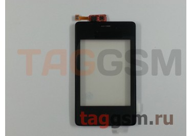 Тачскрин для Nokia 502 (черный), ориг