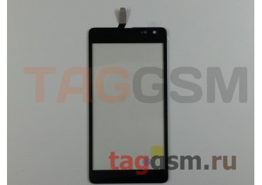 Тачскрин для Microsoft 535 Lumia (CT2S1973FPC-A1) (черный), ориг