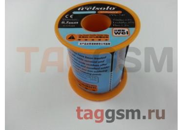 Припой в проволоке Welsolo диаметр 0,5 мм 130 грамм