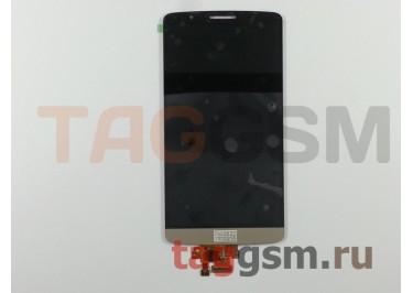 Дисплей для LG D855 / D856 G3 + тачскрин (золото)