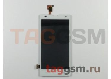 Дисплей для Huawei Ascend Honor 3C + тачскрин (белый)