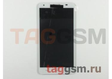 Дисплей для Huawei Ascend Honor 3x (G750) + тачскрин (белый)
