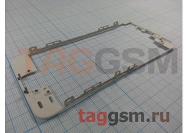 Рамка дисплея для iPhone 5S / SE (белый) + клей, ориг