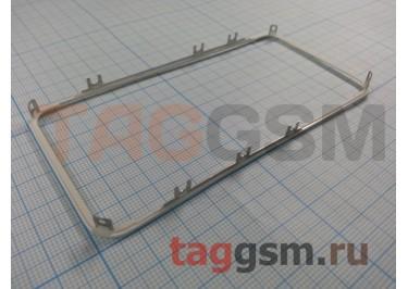 Рамка дисплея для iPhone 4S (белый) + клей