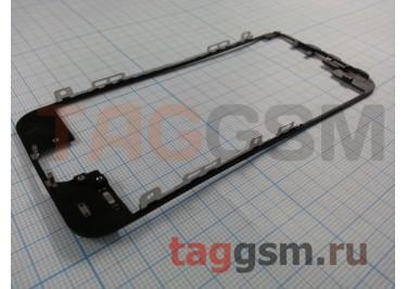 Рамка дисплея для iPhone 5 (черный) + клей, ориг