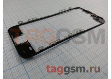 Рамка дисплея для iPhone 5S / SE (черный) + клей, ориг