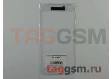 Стекло для Samsung Galaxy E5 (белый)