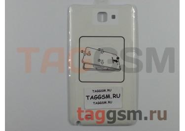 Задняя крышка для Samsung N7000 (белый)