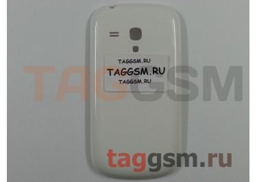 Задняя крышка для Samsung i8190 (белый)