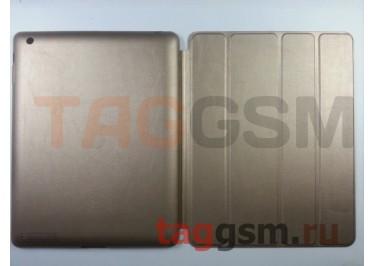 Сумка футляр-книга Smart Case для Apple iPad 2 / 3 / 4 без логотипа (золотая)