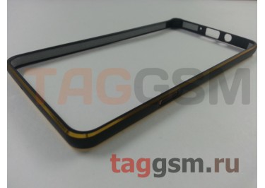 Бампер для Samsung A7 / A700F Galaxy A7 (черный)