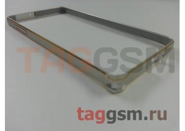 Бампер для Samsung A5 / A500F Galaxy A5 (серебро)