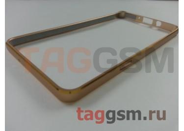 Бампер для Samsung A7 / A700F (золото)