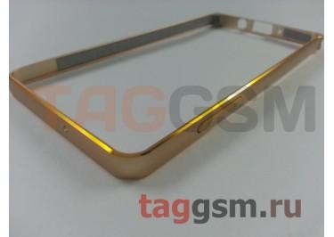 Бампер для Samsung A5 / A500F Galaxy A5 (золото)