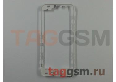 Рамка дисплея для iPhone 5S / SE (белый) (без клея) ориг
