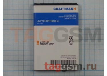 АКБ CRAFTMANN для LG P705 OPTIMUS L7 1550mAh Li-ion