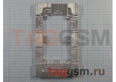 Форма для склеивания дисплея и стекла iPhone 5 / 5C / 5S (алюминий)