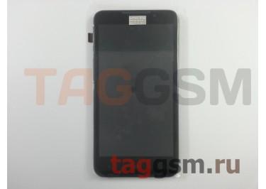 Дисплей для HTC Desire 516 + тачскрин + рамка (черный)