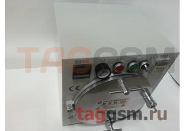 Барокамера (автоклав) для склейки дисплейного модуля (диаметр 20,5см; глубина 26.8см)