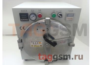Барокамера (автоклав) для склейки дисплейного модуля (диаметр 25,5см; глубина 33.5см)