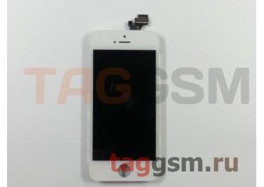 Дисплей для iPhone 5 + тачскрин белый, ориг