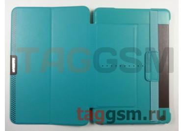 Сумка футляр-книга Baseus для iPad mini 2 Retina (Nappa case бирюзовая)