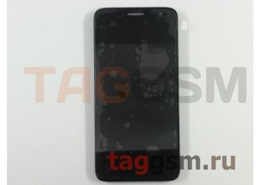Дисплей для Alcatel OT-6012x Idol mini  + тачскрин + рамка (черный)