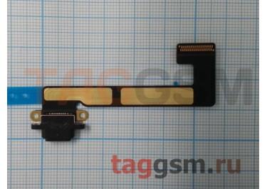 Шлейф для iPad Mini 2 / iPad Mini 3 + разъем зарядки (черный)