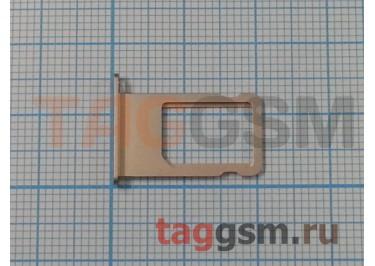 Держатель сим для iPhone 6S Plus (золото)