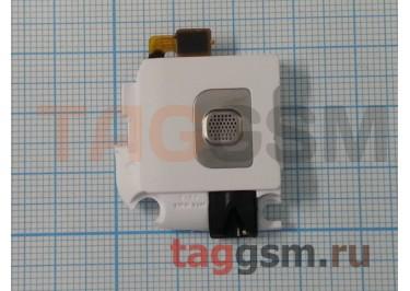 Звонок для Samsung i8550 в сборе + разъем гарнитуры (белый)