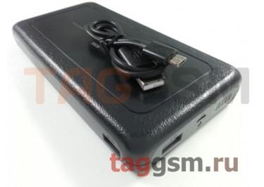 Портативное зарядное устройство (Power Bank) (HSW-6SE, 2USB выхода 1000mAh  /  2000mAh) Емкость 20000mAh (черное)