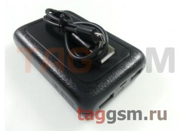 Портативное зарядное устройство (Power Bank) (HSW-6Si, 2USB выхода 1000mAh  /  2000mAh) Емкость 6000mAh (черное)