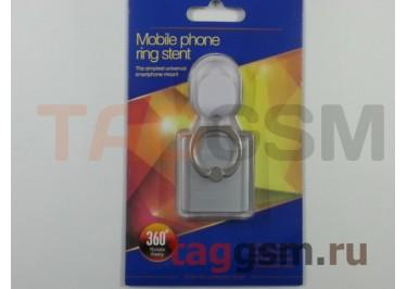 Держатель для мобильных телефонов 360 градусов (с автомобильным держателем крючок) Samsung (серебро)