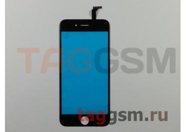 Стекло + тачскрин для iPhone 6 (черный), (олеофобное покрытие) ААА